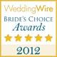 WeddingWire Awards button